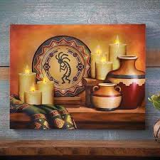 southwestern wall decor led lighted candles southwestern canvas print wall decor hanging southwestern wall hanging patterns southwestern wall decor