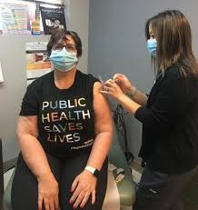 Rhodes first to receive vaccine in Lyon County | News | heraldledger.com
