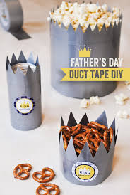 father s day ideas king of duct tape father s day diy tutorial