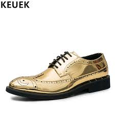british style men brogue shoes lace up casual leather