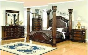 north s canopy bedroom set furniture canopy bed furniture north s cassimore north s pearl silver