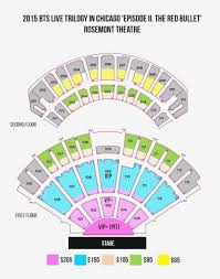 Rosemont Theatre Seating Chart With Seat Numbers 47 All Inclusive The Chicago Theater Seating