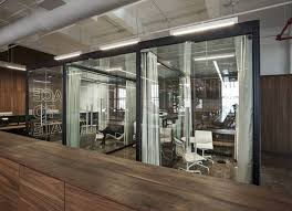 cool office design ideas. Transparent Glass Wall Divider Partition For Offices // 10 Creative Office  Space Design Ideas Cool Office Design Ideas S