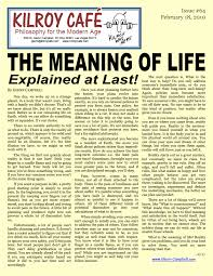 essay on the meaning of life co essay