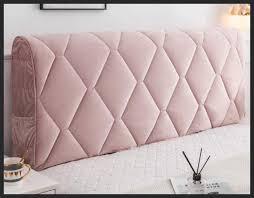 La soluzione è un copritestata da letto in pregiato tessuto per rendere. Copri Testata Letto Fodera Antipolvere Protezione Copripiumino Copertura Addensato Schienale Anti Collisione Soffice Cuscino In Tessuto Stile Europeo Soft Cover Lavabile Pink 120 65cm Testiere Casa E Cucina