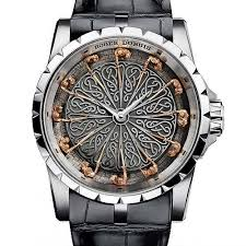 darker knights roger dubuis presents its latest excalibur knights of the round table edition watchtime usa s no 1 watch