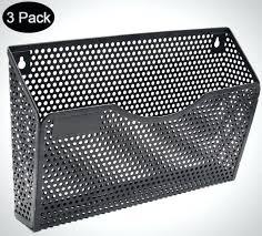 wall mount file holder mail organizer sy modular design black metal mesh wall mounted file folder metal file holder