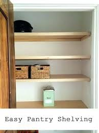 Building closet shelves Custom Closet Diy Closet Drawers Simple Closet Shelves Easiest Pantry Or Closet Shelving Simple Closet Diy Closet Organizer Drawers The Idea Room Diy Closet Drawers Simple Closet Shelves Easiest Pantry Or Closet