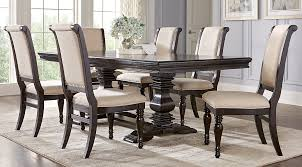 chair dining table cool dining room table and chair sets westerleigh oak pc rectangle dining room