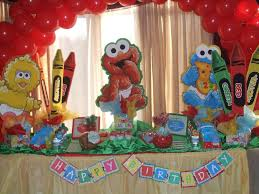 Sesame Street Bedroom Decorations Decor Sesame Street Decorations For Happy Birthday Decorations