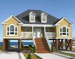 Plan W60053RC Low Country Or Beach Home Plan  EARCHITECTURAL DesignElevated Home Plans