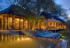 home swimming pools at night. Swimming Pool At Night Phinda Homestead, South Africa Home Pools