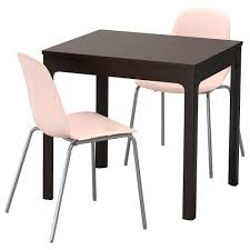 ikea leifarne ekedalen table and 2 chairs can be easily extended by one person