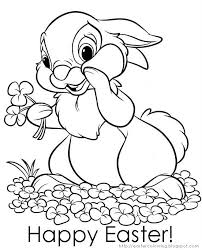 Disney Bunnies Coloring Page Printable Free Easter Coloring