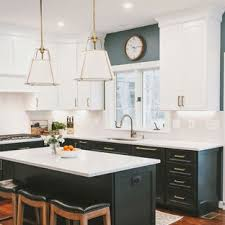 Who needs a decorator when they have so many resources available to. 75 Beautiful Dark Wood Floor Kitchen With Black Cabinets Pictures Ideas April 2021 Houzz