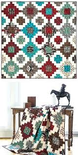 Southwest Quilt Patterns Best Southwestern Quilts Patterns Block Of The Month Southwest Indian