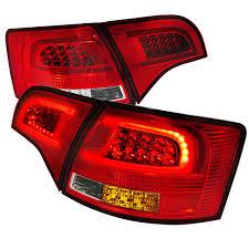 avant lighting. 2005-2008 Audi A4 B7 Avant [5-Door Wagon] Performance LED Tail Lights - Red Clear Lighting K