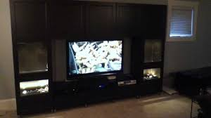 Living Room Cabinet Ikea Ikea Besta Large Entertainment Center Project And Assembly Tips