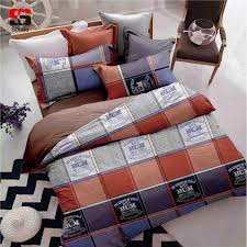 sookie queen size duvet cover sets plaid bedding set grids printed 2 pillowcases 230x230cm full bedding set youth bedding from bowstring 51 44 dhgate com