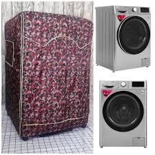 Áo trùm, vỏ bọc máy giặt cửa ngang bằng vải dù siêu biền trùm cho Máy giặt  Aqua Inverter 9 kg AQD-D900F S tại TP. Hồ Chí Minh