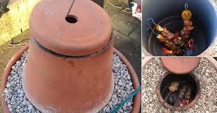 how to make a flower pot tandoor oven diy