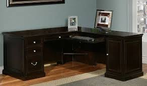 l shaped desks home office. image of blacklshapeddeskwithhutchideas l shaped desks home office