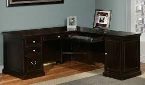 l shaped desks home office. image of blacklshapeddeskwithhutchideas l shaped desks home office