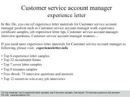 Account Manager Sample Resume Classy Sample Resume For Customer Service Account Manager Together With