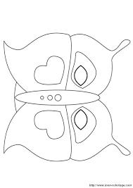 Colorare Disegni Da Ritagliare Disegno Farfalla Maschera