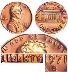 Lincoln Memorial Penny Values Chart 1971 S Doubled Die Obverse Ddo Lincoln Memorial Cent Penny