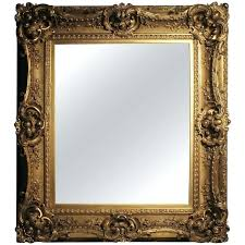 antique gilt century picture frame or mirror baroque rococo style for frames 5x7 id f