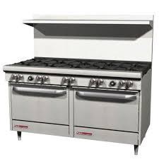 commercial gas range. Wonderful Commercial Commercial Range 60 Inch 10 Burners 2 Ovens Gas With Range V