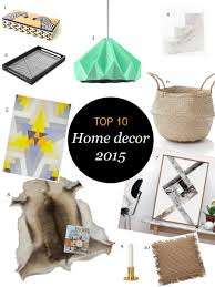 Small Picture Top 10 Must Have Home Decor 2015 l Interior Styling