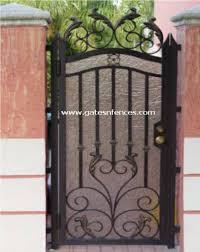 decorative garden gates. Custom Decorative Garden Gate With Privacy Backing Gates