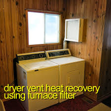 clothes dryer heat recovery