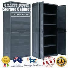 outdoor storage cabinet lockable garden