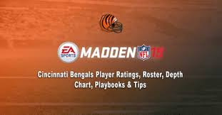 Joe Mixon Depth Chart Madden 19 Cincinnati Bengals Player Ratings Roster Depth