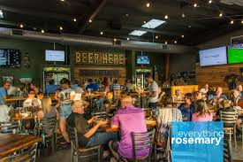 mandeville beer garden on lemon avenue in the rosemary district is a local favorite known for great beer great food and a friendly atmosphere