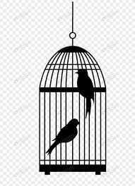 鳥のシルエットと鳥かごイメージグラフィックス Id 400773511prf画像