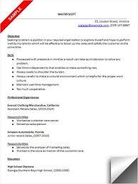 Retail Sales Resume Sample | Resume Examples | Pinterest | Resume ...