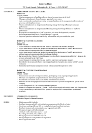 Talent Culture Resume Samples Velvet Jobs