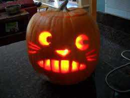 Totoro Pumpkin Designs Totoro Jack O Lantern A Pumpkin Food Decoration On Cut
