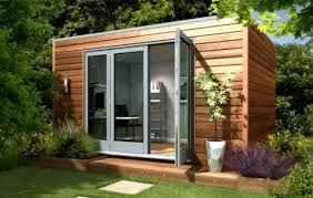 detached home office. Detached Home Office. Garden Offices And Studio - Modern/Cube Contemporary Prefab Studios Office
