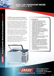 Ultralow Temp Chest Freezer 40 To 86 Manualzz Com
