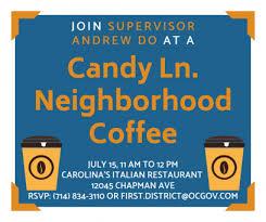 Supervisor Andrew Do 1st District Newsletter