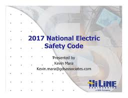 2017 national electric safety code 2017