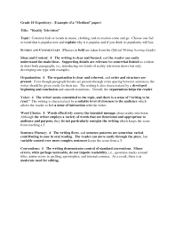 7th Grade Essay Writing Expository Essay Examples 7th Grade Writings And Essays Corner