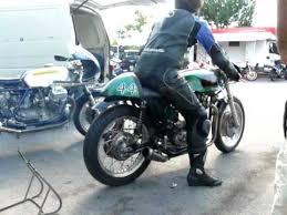 triton racing motorcycle starting up youtube
