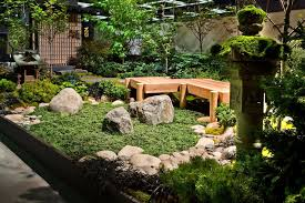 Small Backyard Japanese Garden Ideas Awesome Tiered Waterfalls And Clear Koi  Pond In Japanese ...