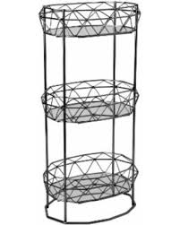 spa towel storage. Contemporary Towel Kennedy Geometric 3tier Spa Tower With Mirror Shelves Towel Rack In Black On Towel Storage